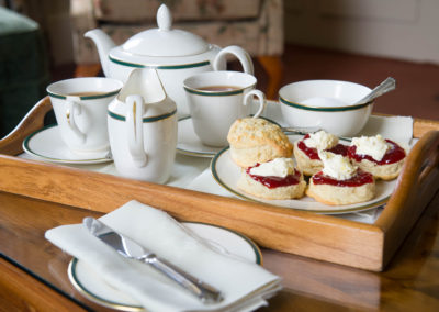 Beera Farm cream tea